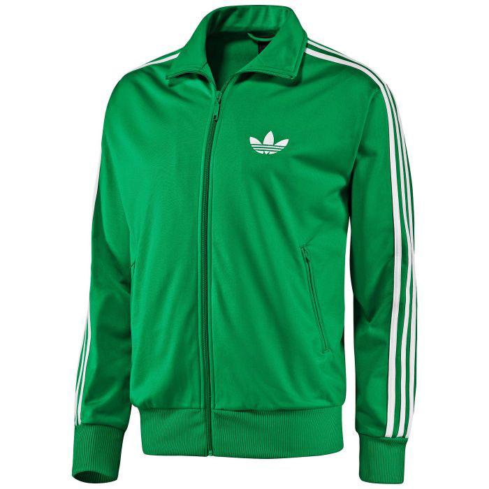 Adidas firebird jacke herren grau