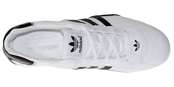 adidas adi racer low leather new in white black goodyear. Black Bedroom Furniture Sets. Home Design Ideas