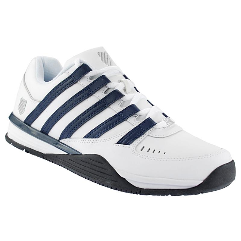 k swiss baxter leather men 39 s sneaker men shoes white. Black Bedroom Furniture Sets. Home Design Ideas