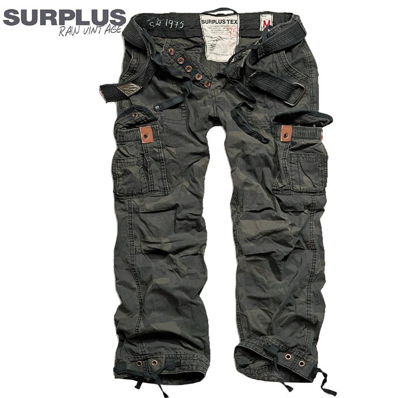 surplus premium vintage trousers herren cargohose outdoor camo milit r hose neu ebay. Black Bedroom Furniture Sets. Home Design Ideas