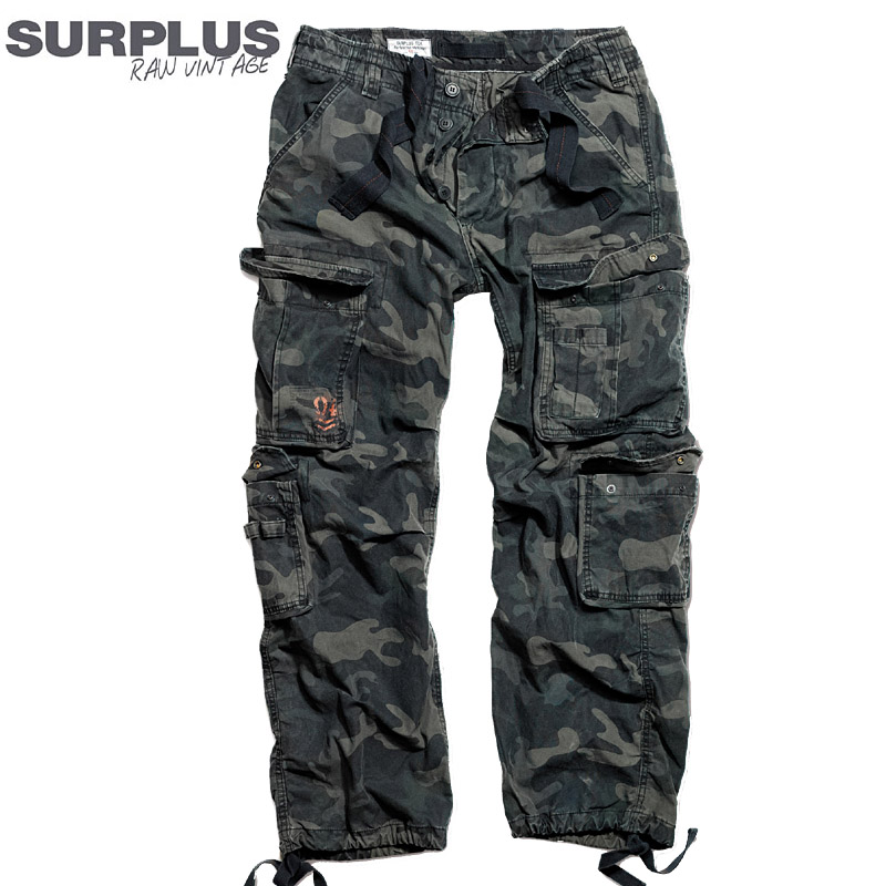 surplus airborne vintage trousers herren cargohose outdoor camo milit r hose neu ebay. Black Bedroom Furniture Sets. Home Design Ideas