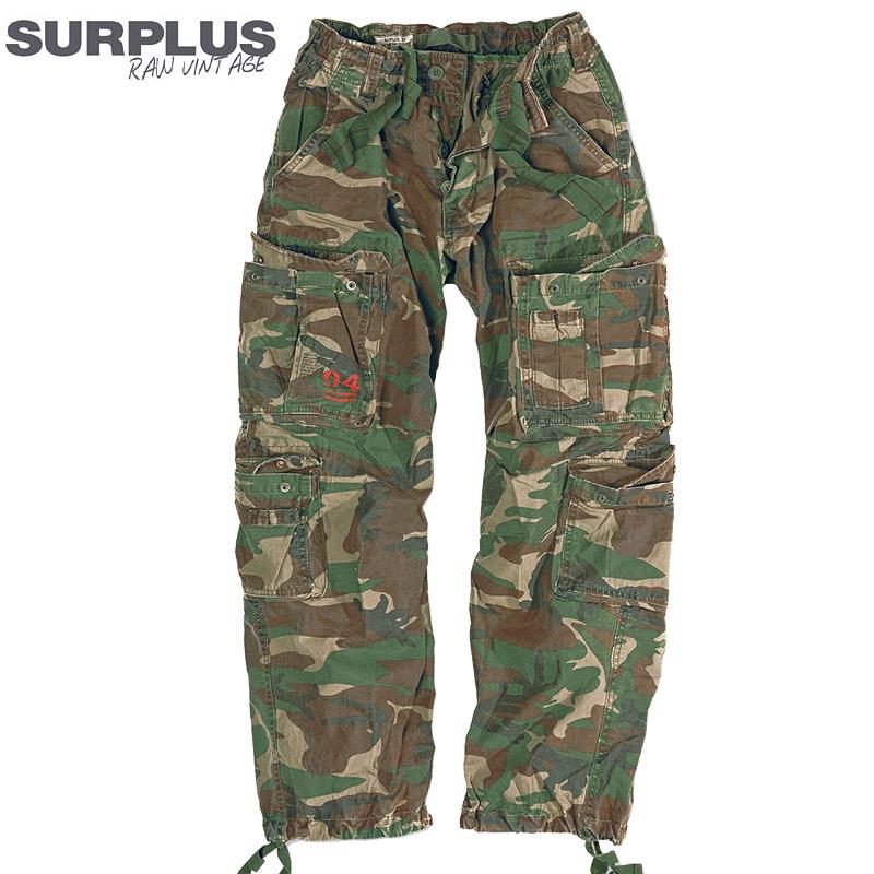 surplus airborne vintage trousers herren cargohose outdoor camo milit r hose neu. Black Bedroom Furniture Sets. Home Design Ideas