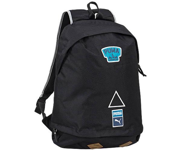 Backpack-PUMA-Street-X-Hiking-Hikers-Backpack-Black-Blue-New
