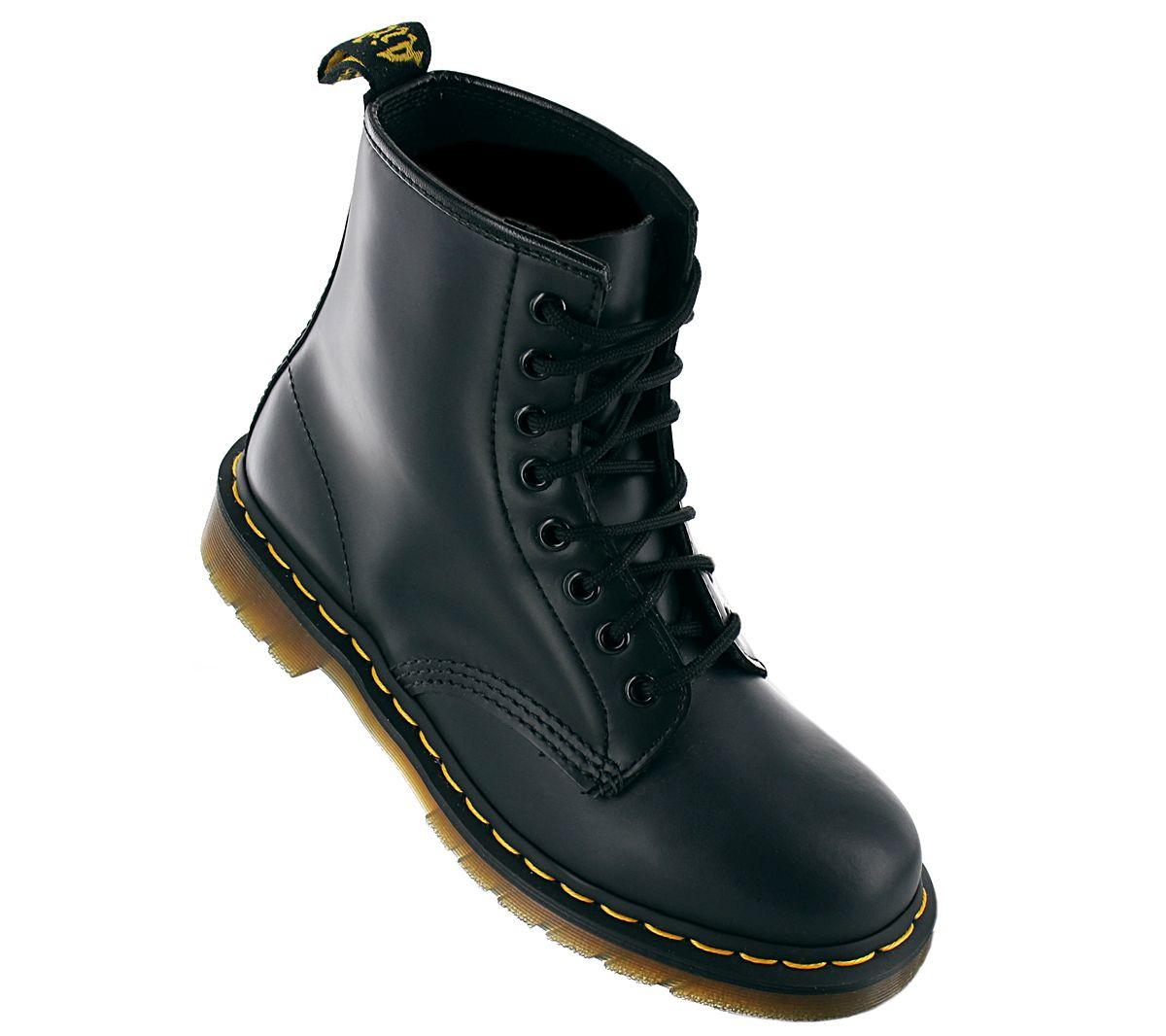 dr martens 1460 smooth doc boots leder stiefel 8 loch. Black Bedroom Furniture Sets. Home Design Ideas