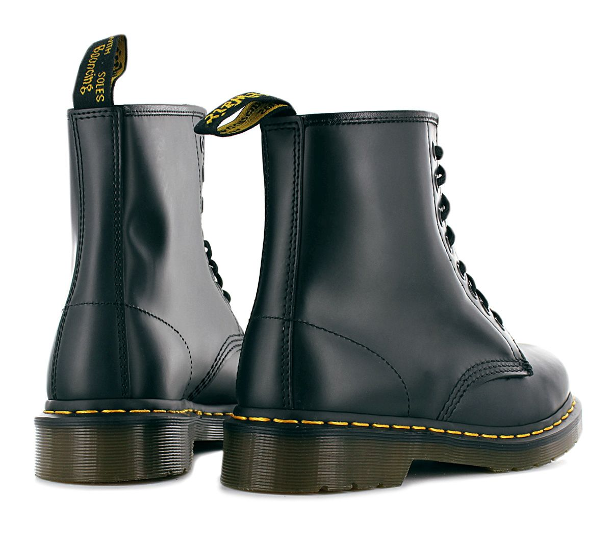 doc martens 1460 lisse doc bottes en cuir 8 trou bleu marine neuf 10072410 ebay. Black Bedroom Furniture Sets. Home Design Ideas