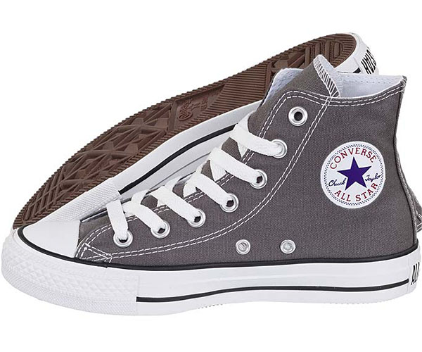 all star converse grigie uomo