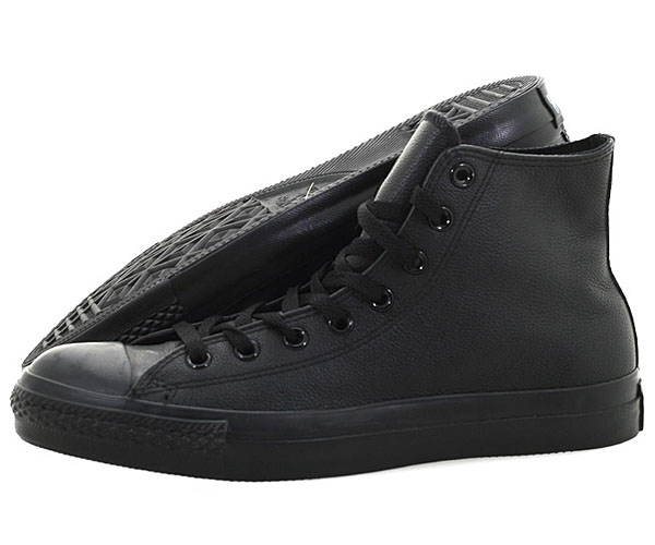 converse chucks hi leather 1t405 all star leder high schuhe schwarz sneaker ebay. Black Bedroom Furniture Sets. Home Design Ideas