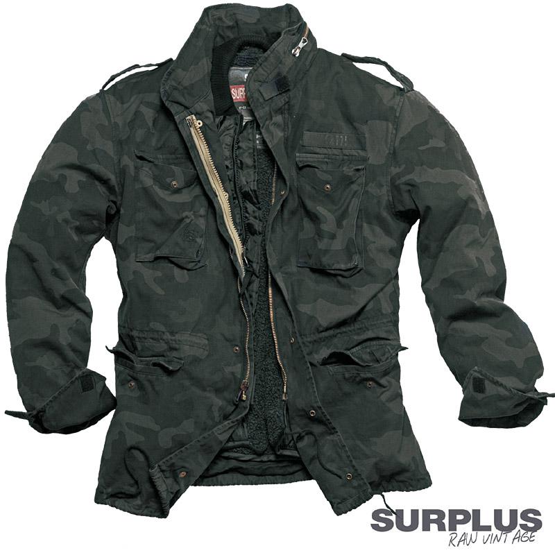 veste hommes surplus m65 regiment vintage parka veste. Black Bedroom Furniture Sets. Home Design Ideas