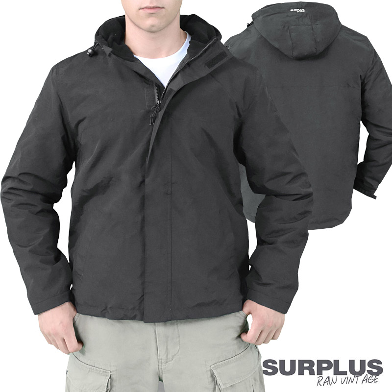 surplus herren zipper windbreaker regenjacke softshelljacke softshell jacke neu ebay. Black Bedroom Furniture Sets. Home Design Ideas