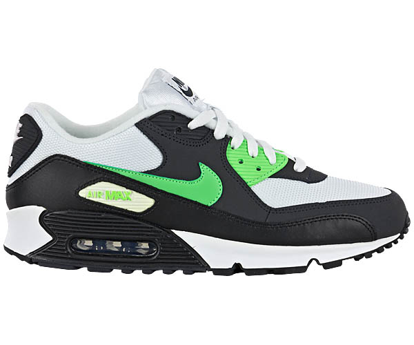 nike air max 90 herren schuhe neu schwarz weiss. Black Bedroom Furniture Sets. Home Design Ideas