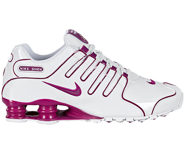 nike wmns shox nz damen schuhe neu weiss pink sneaker. Black Bedroom Furniture Sets. Home Design Ideas
