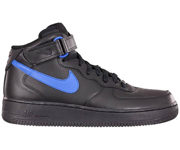 Nike Air Force 1 Schwarz Blau