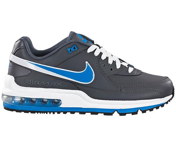[Größe Wählen] NIKE AIR MAX LTD II 2 Grau-Blau NEU Herren Sneaker