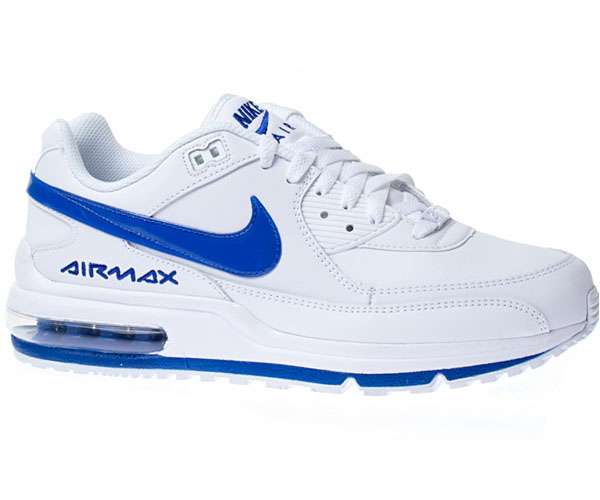nike air max herren leather blau