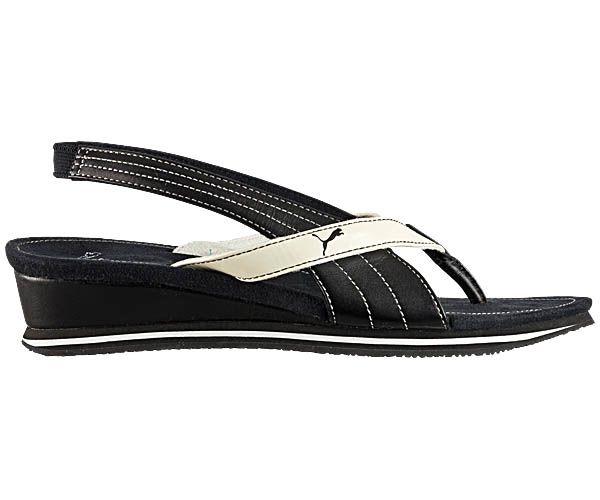 puma eva damen sandalen zehentrenner riemchensandalen sandaletten schwarz neu ebay. Black Bedroom Furniture Sets. Home Design Ideas