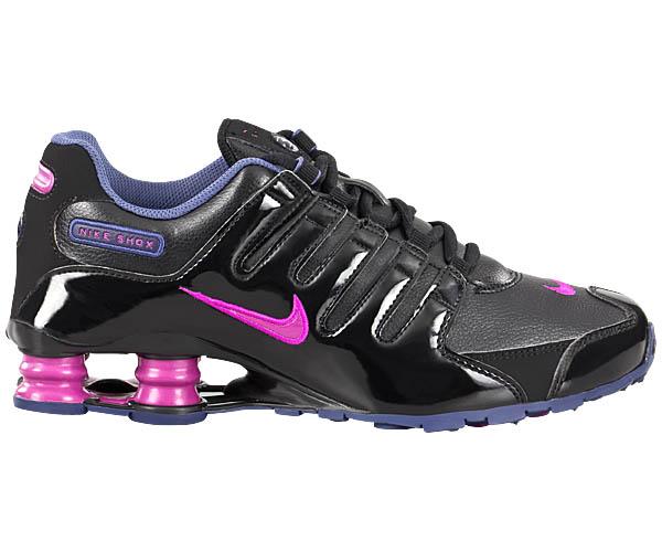Nike Shox Nz Damen Schwarz Lila