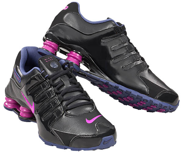 on sale d2eb7 7a502 Nike Shox Damen Schwarz Pink