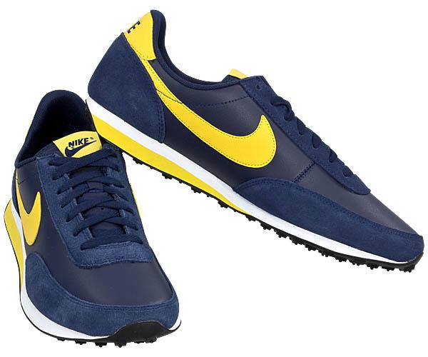 Nike elite leather si schuhe neu leder sneaker grau blau for Schuhschrank nike