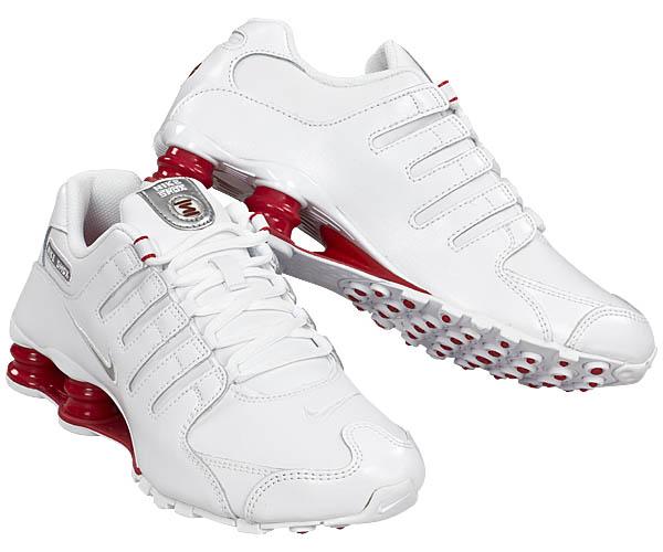 Nike Shox Damen Weiß