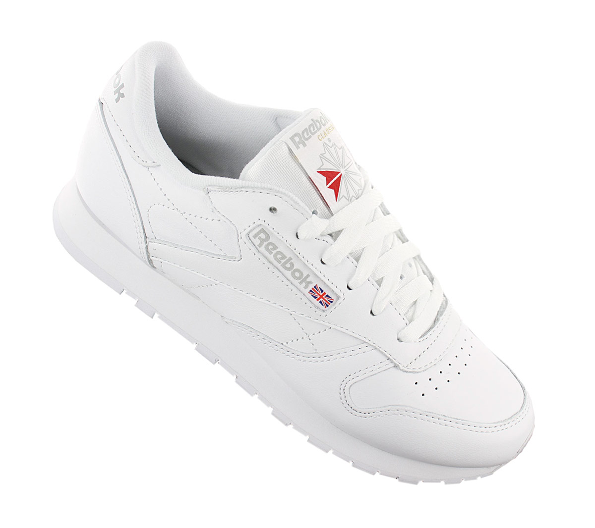 reebok classic leather damen sneaker neu damenschuhe weiss schwarz leder schuhe ebay. Black Bedroom Furniture Sets. Home Design Ideas