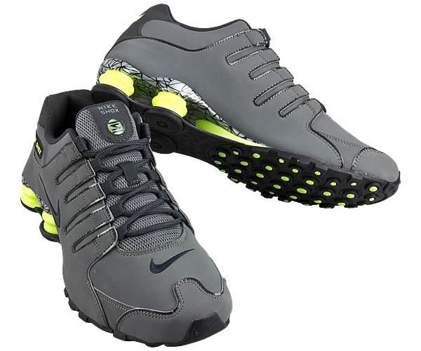 Nike Shox Grau Grün
