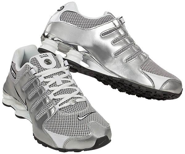 Nike Shox Silber