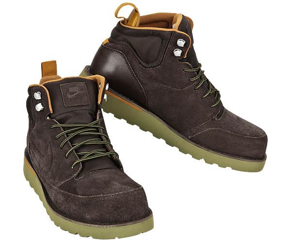 nike kartsman leather boots acg 599475 444 mens brown