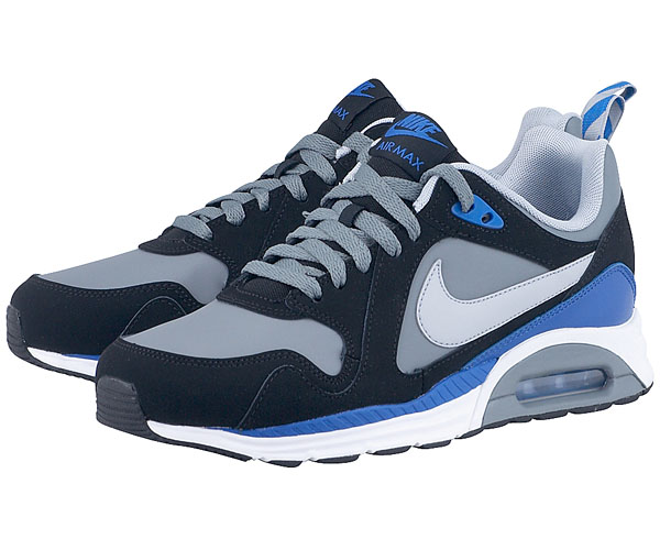 nike air max chase leather m black .