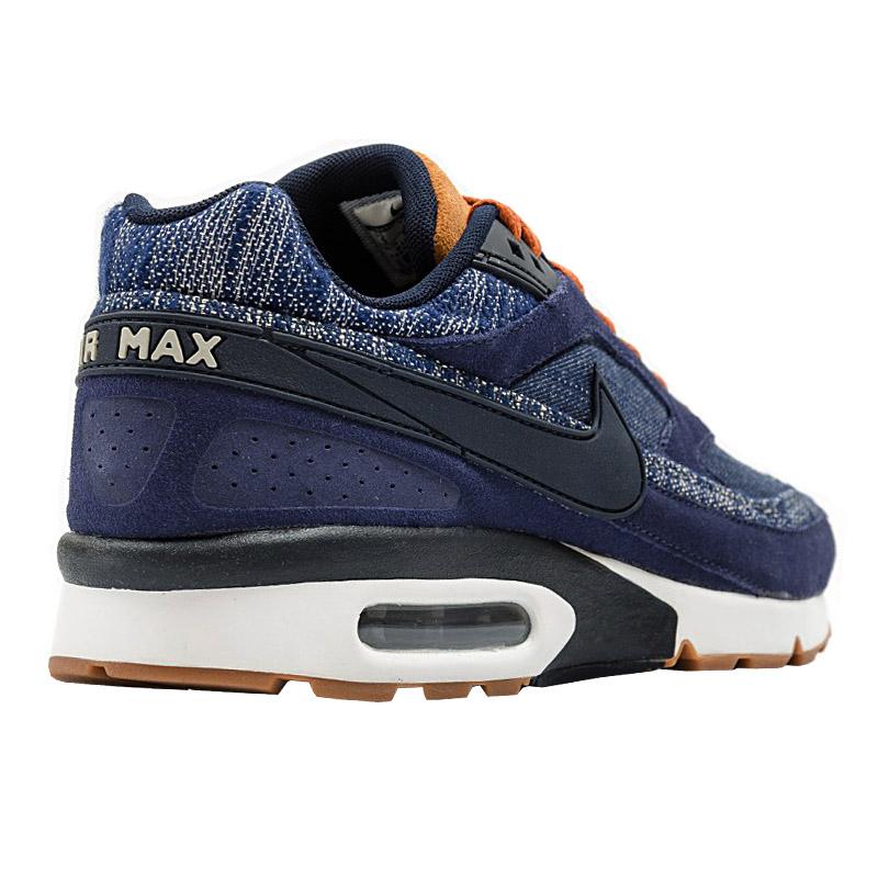 air max bw premium denim bleu