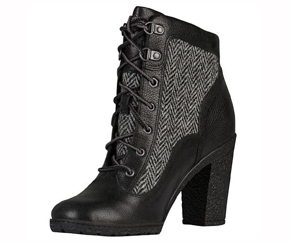 timberland glancy damen stiefeletten stiefel boots schwarz. Black Bedroom Furniture Sets. Home Design Ideas