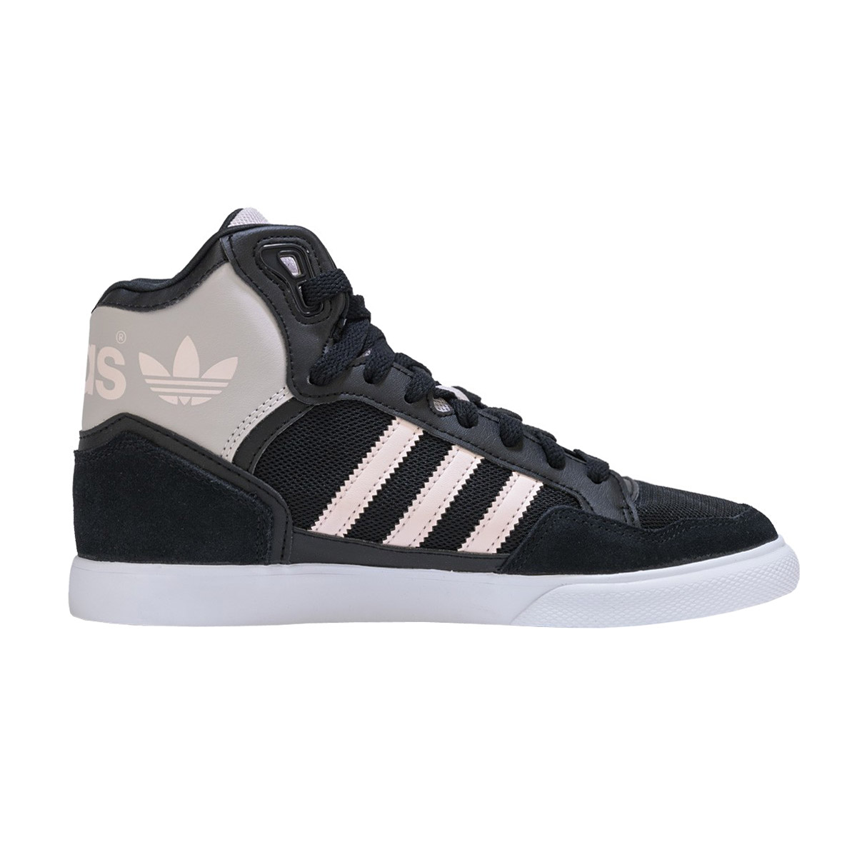 adidas damen sneaker extaball w schwarz high schuhe. Black Bedroom Furniture Sets. Home Design Ideas