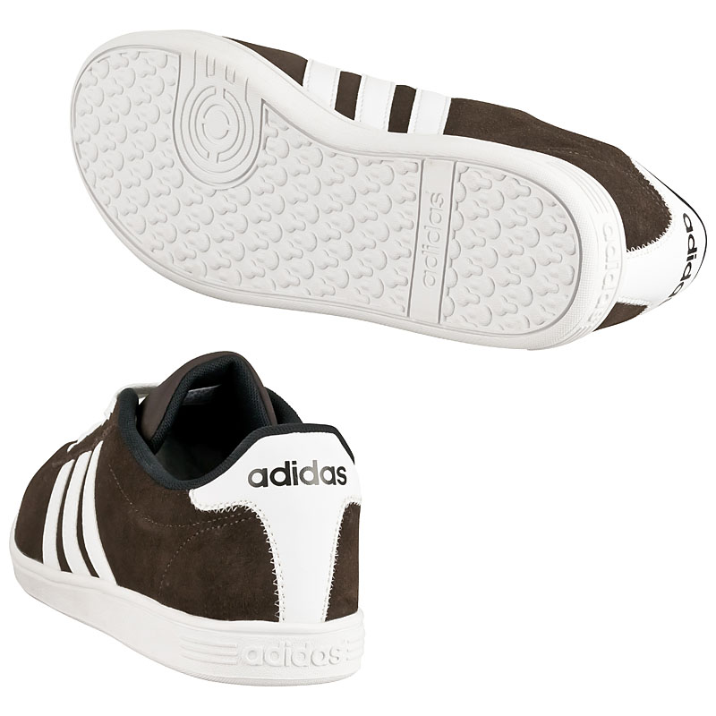 adidas men trainers court low vl brown mens shoes sneakers. Black Bedroom Furniture Sets. Home Design Ideas