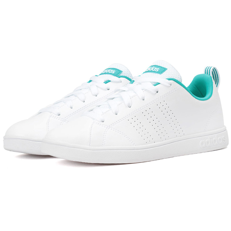 adidas advantage clean vs w sneaker chaussure blanc femme fille neuf stan smith ebay. Black Bedroom Furniture Sets. Home Design Ideas