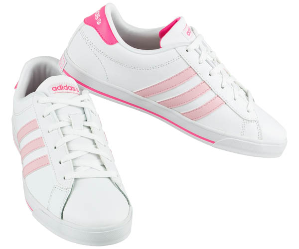 adidas neo weiss rosa