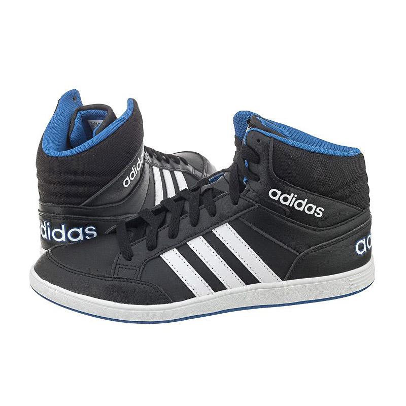 adidas hoops mid w damen sneaker hohe schuhe schwarz high. Black Bedroom Furniture Sets. Home Design Ideas