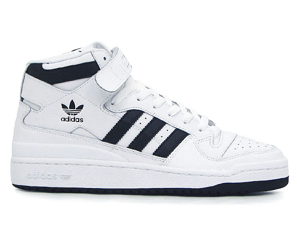 adidas forum mid 44 uk 9 5 herren sneaker neu weiss schwarz schuhe leder ebay. Black Bedroom Furniture Sets. Home Design Ideas