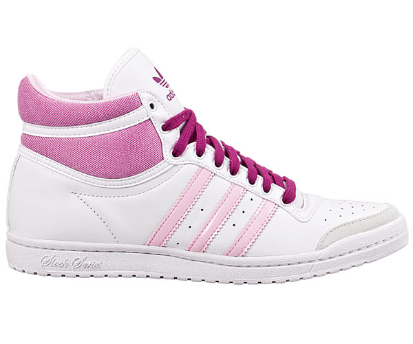 adidas top ten hi sleek high sneaker neu damen schuhe damenschuhe weiss schwarz ebay. Black Bedroom Furniture Sets. Home Design Ideas