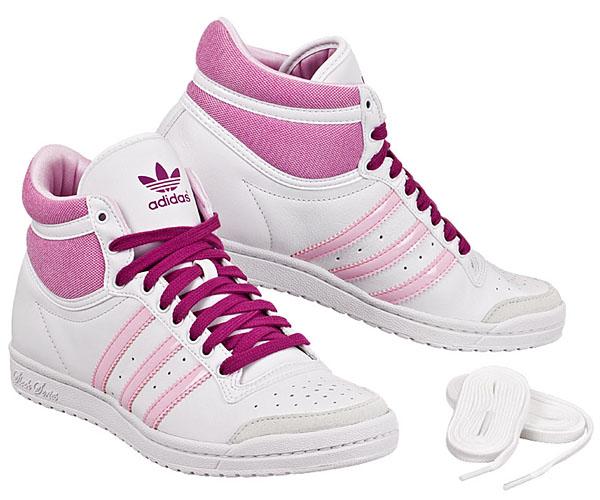 Adidas Schuhe Weiß Rosa