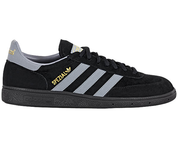 adidas spezial herren schuhe neu schwarz leder sneaker originals retro ebay. Black Bedroom Furniture Sets. Home Design Ideas