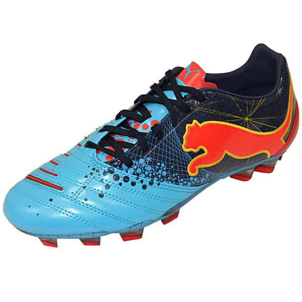 Football-Shoes-Puma-Power-Cat-2-12-Gravity-FG-Mens-Spikes-New-Blue