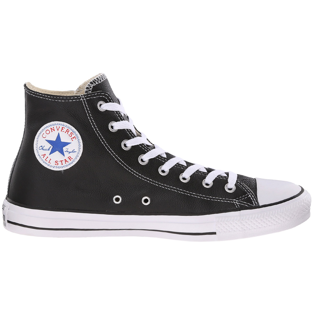 converse chuck taylor all star hi leather schuhe sneaker. Black Bedroom Furniture Sets. Home Design Ideas