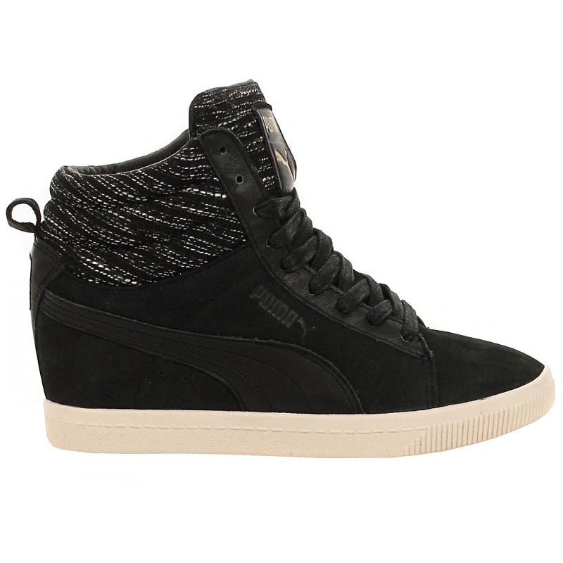 Puma Damen Mid Schuhe Leder Canvas Sneaker Sportschuhe Turnschuhe ... e061d3be8e