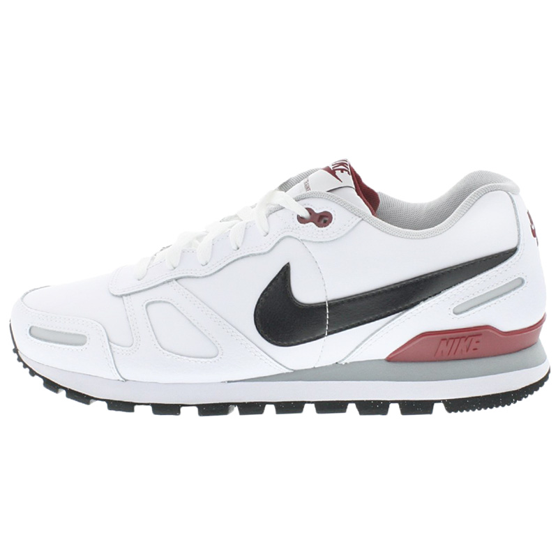 nike air waffle trainer leather herren leder schuhe weiss sneaker sportschuhe ne ebay. Black Bedroom Furniture Sets. Home Design Ideas