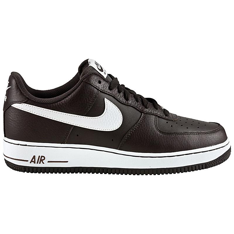 nike air force 1 one low herren schuhe leder sneaker. Black Bedroom Furniture Sets. Home Design Ideas