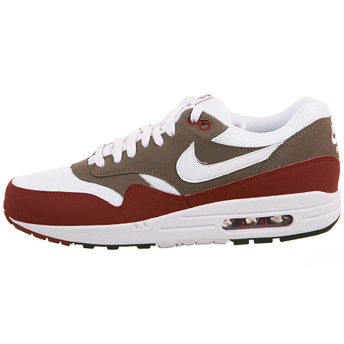 air max 1 essential herren rot