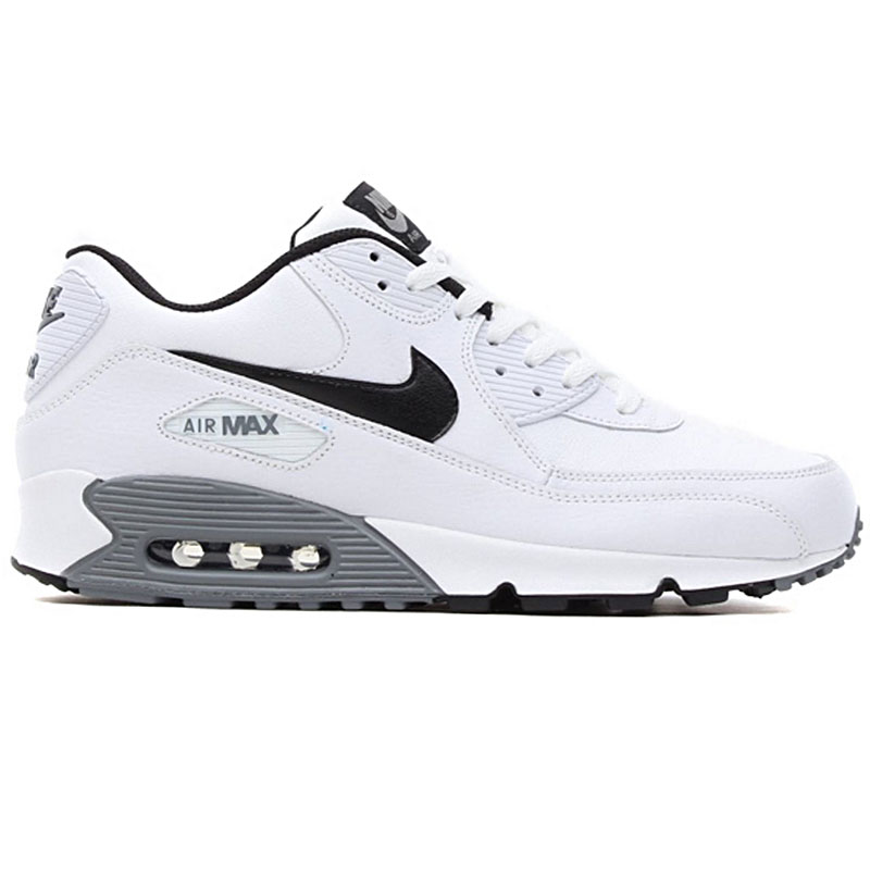 good nike air max 90 weiß leder damänner 005be 2ec8e