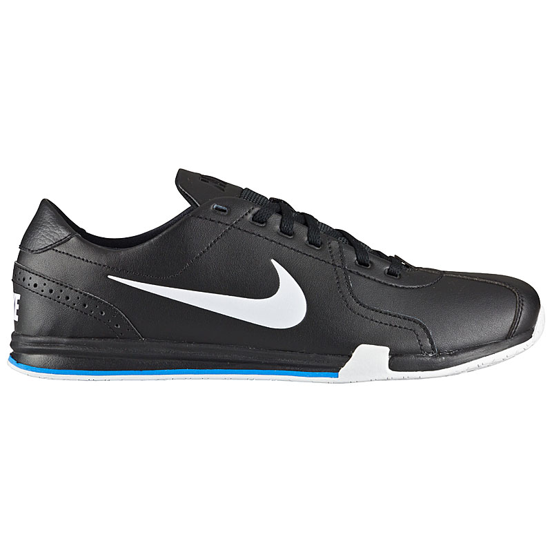 nike circuit trainer leather 2 herren schuhe sneaker sportschuhe leder schwarz ebay. Black Bedroom Furniture Sets. Home Design Ideas