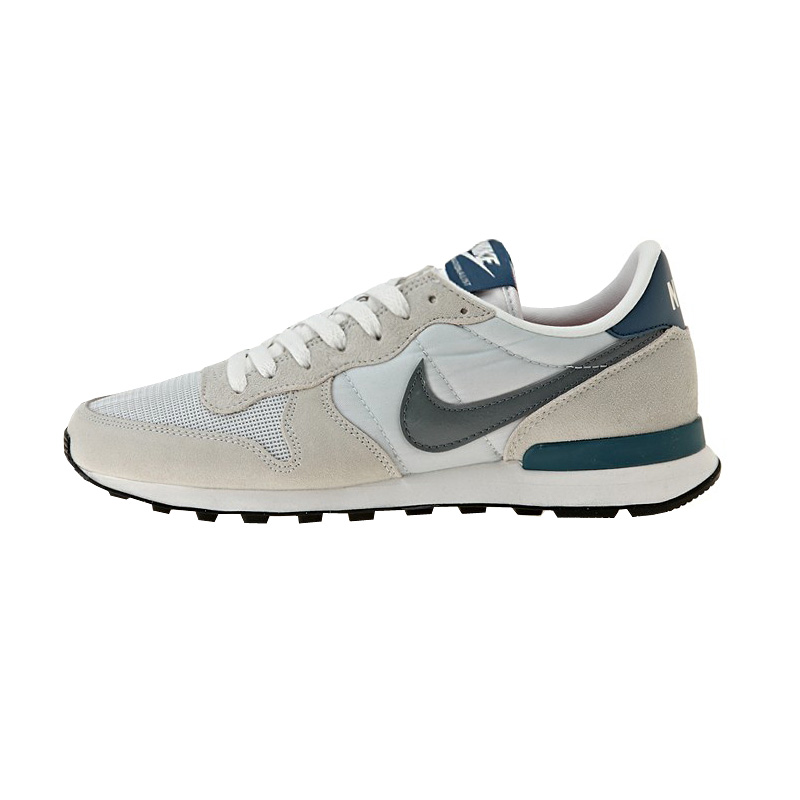 nike internationalist sneaker herren schuhe leder platinum. Black Bedroom Furniture Sets. Home Design Ideas