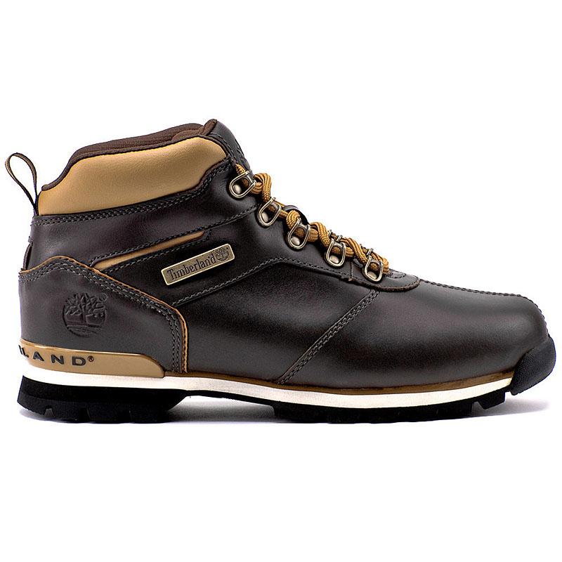 timberland splitrock 2 hiker herren boots leder stiefel winterstiefel euro brook ebay. Black Bedroom Furniture Sets. Home Design Ideas
