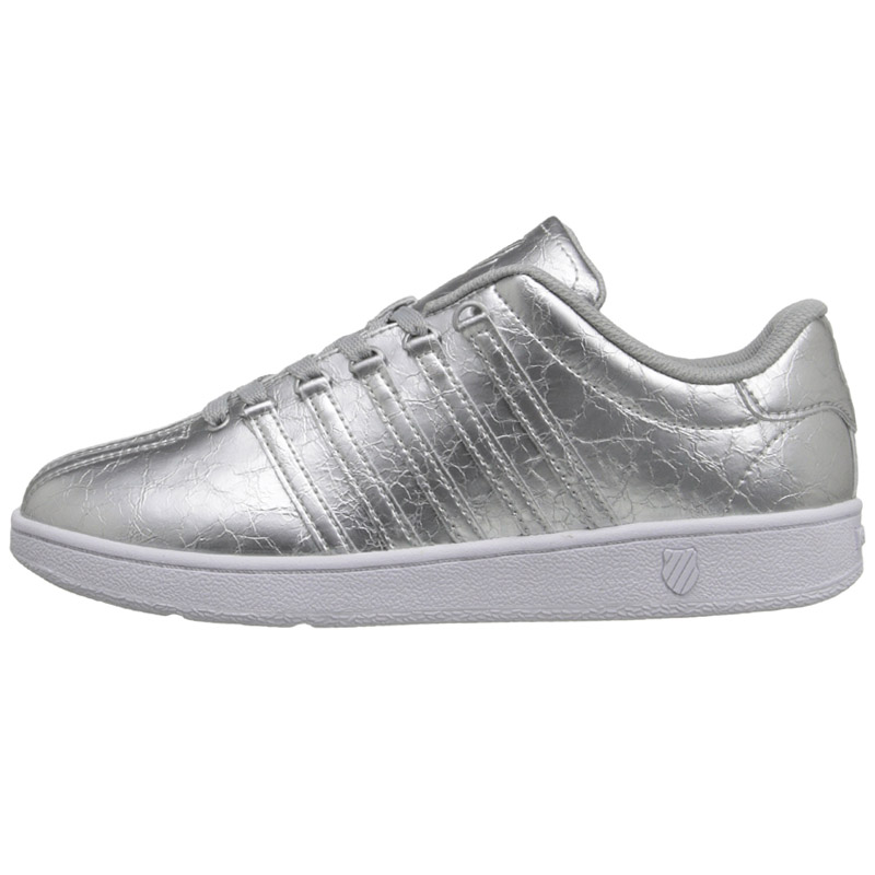 k swiss classic vn metallic farben damen sneaker schuhe gold silber wei neu. Black Bedroom Furniture Sets. Home Design Ideas
